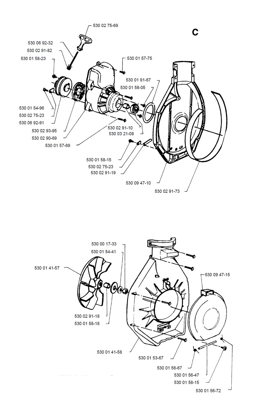 132HBV-T2-Husqvarna-PB-2Break Down