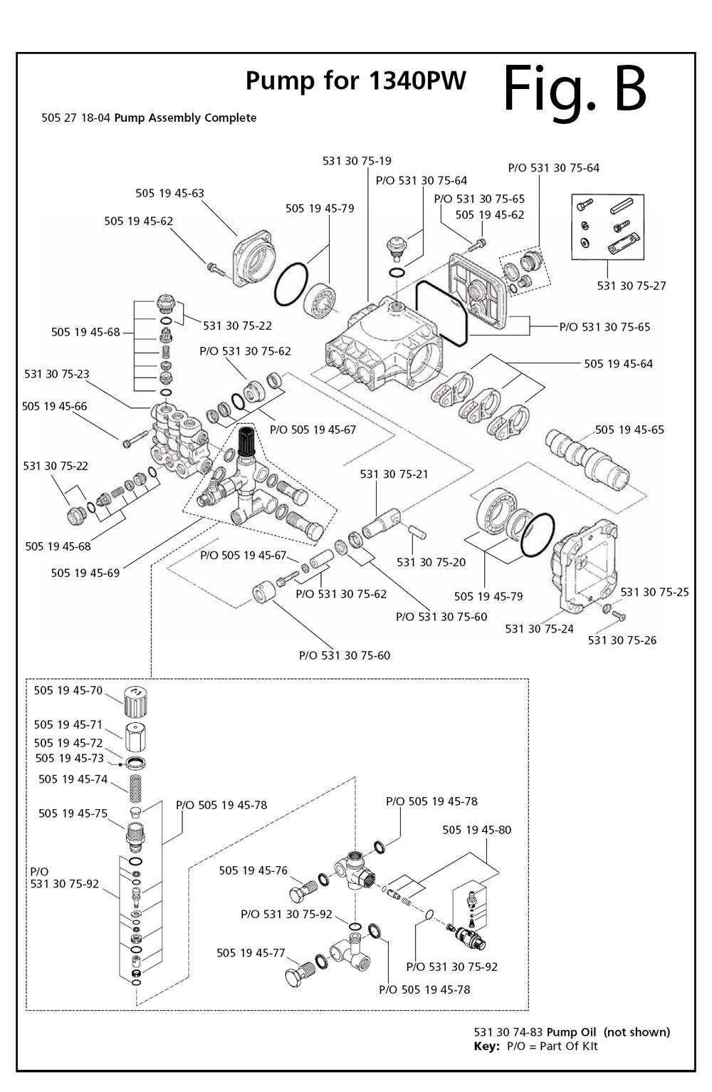 1340PW-Husqvarna-PB-1Break Down
