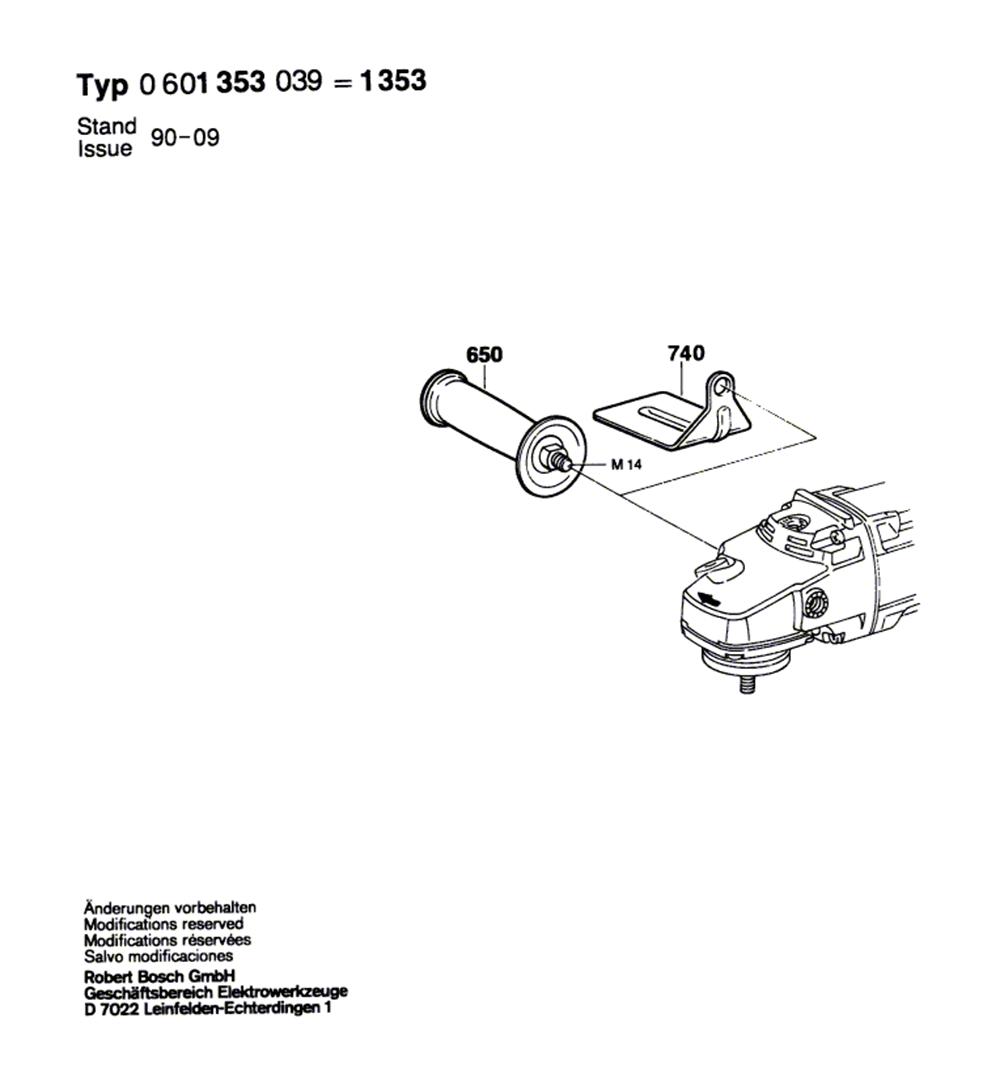 1353(0601353039)-bosch-PB-1Break Down