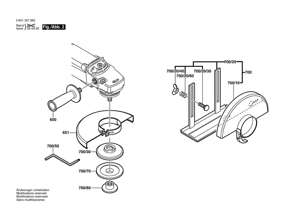 1357G(0601357060)-bosch-PB-1Break Down