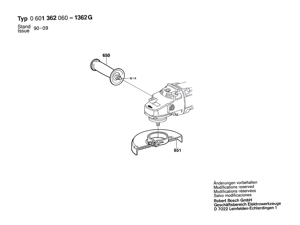 1362G(0601362060)-bosch-PB-1Break Down
