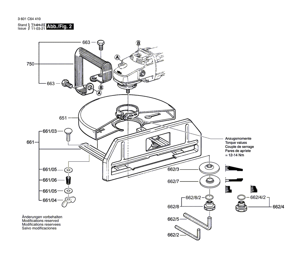 1364(3601C64410)-bosch-PB-1Break Down