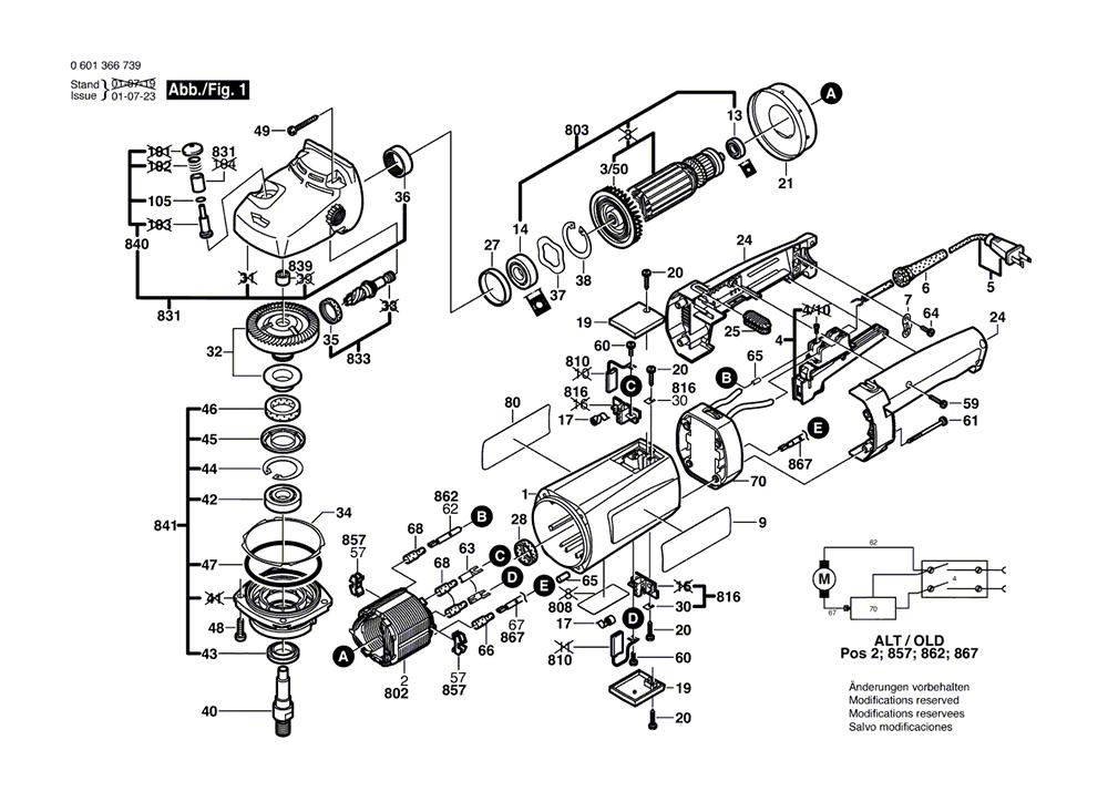 1366EVS(0601366739)-bosch-PB-1Break Down