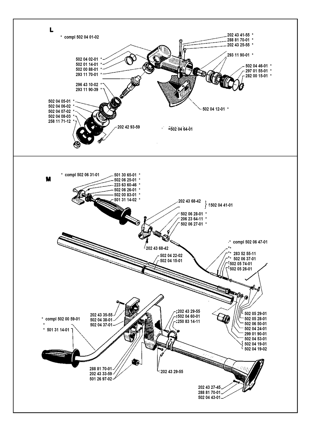 140 R-(I8000002)-Husqvarna-PB-4Break Down