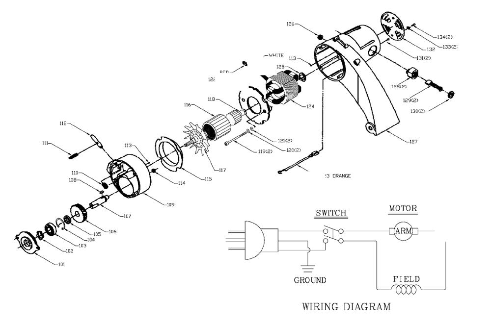 1400-Porter-Cable-T3-PB-1Break Down