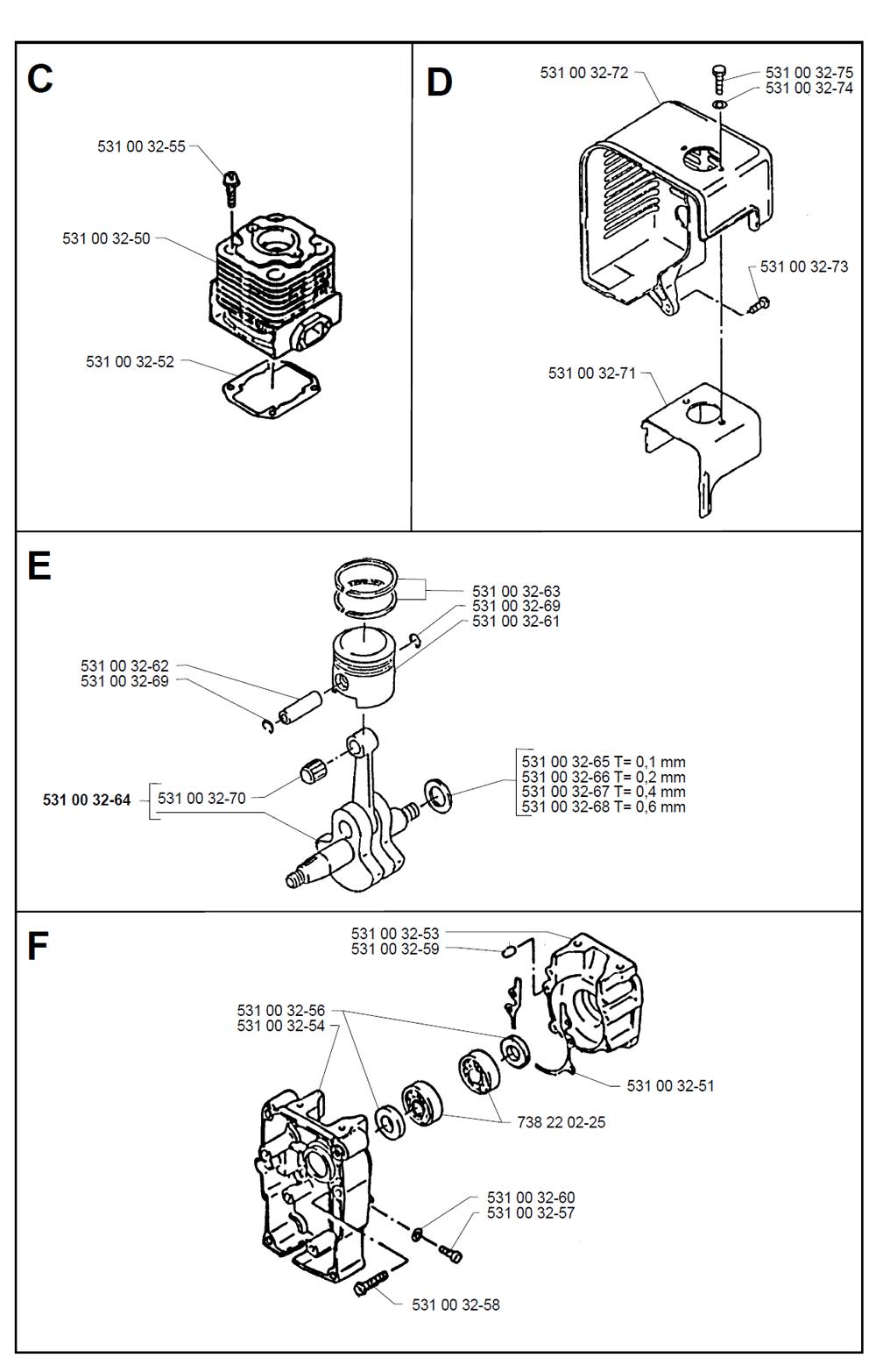 140B-T2-Husqvarna-PB-1Break Down