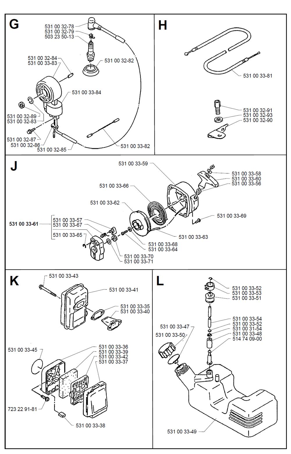 140B-T2-Husqvarna-PB-2Break Down