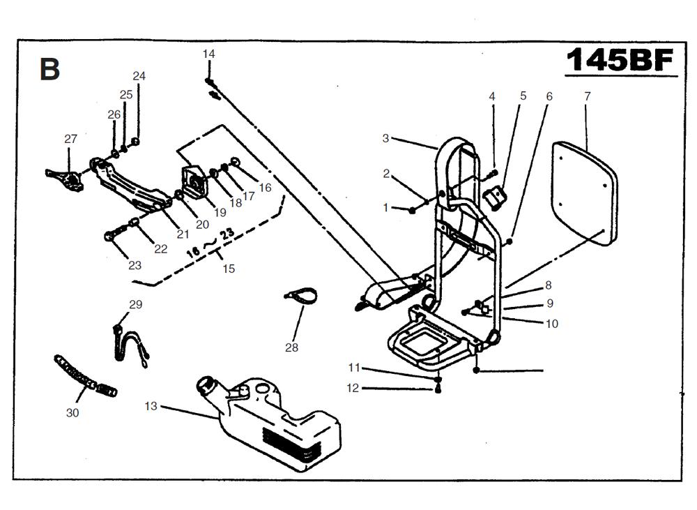145BF-Husqvarna-PB-1Break Down
