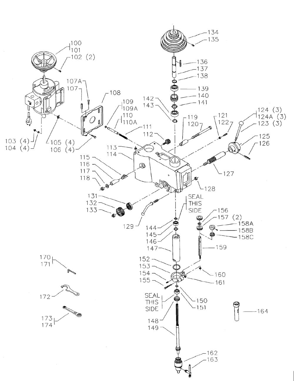 Delta-15-260-Type-2-Parts-1993-PBBreak Down