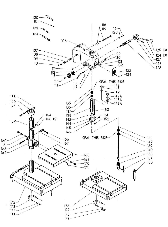 Delta-15-332-Type-1-Parts-1994-PBBreak Down