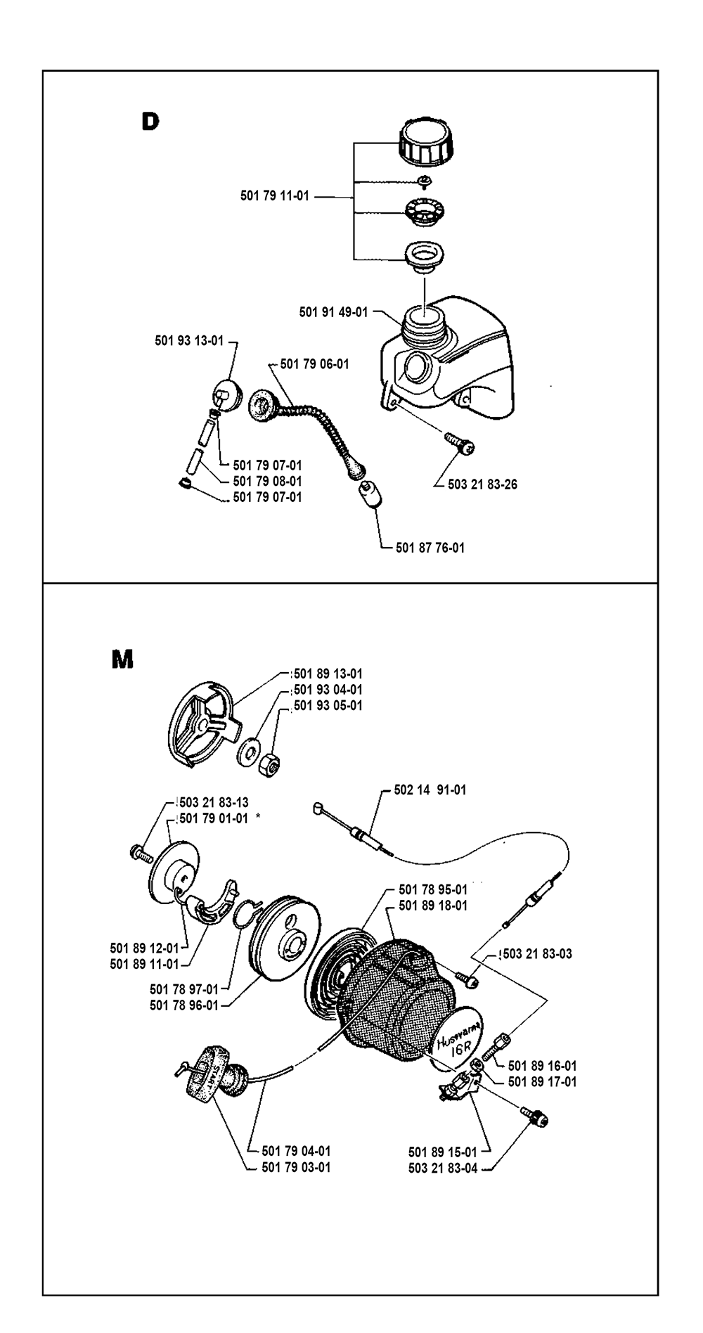 16 R-(I8600002)-Husqvarna-PB-3Break Down
