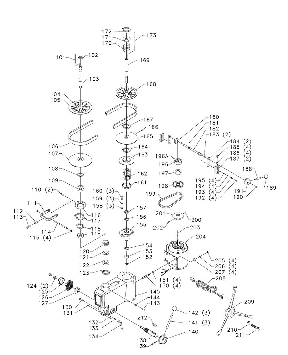 Delta-17-925-Type-1-Parts-1995-PBBreak Down