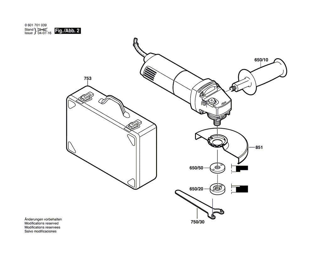 1701A(0601701039)-bosch-PB-1Break Down