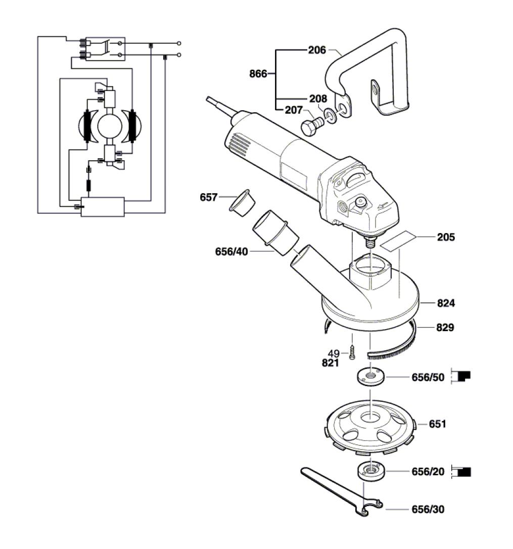 1773A-(0601773739)-Bosch-PB-1Break Down