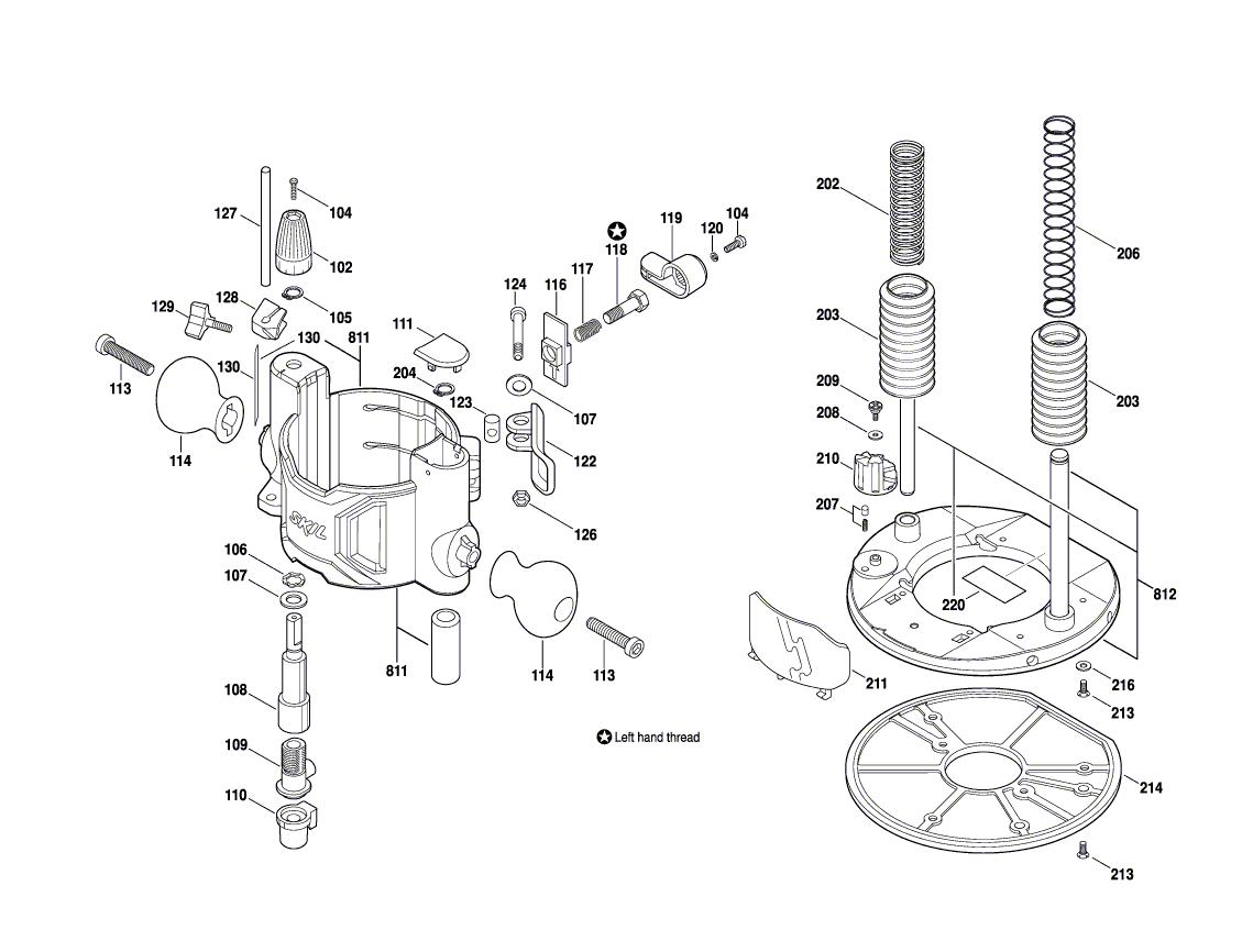 1830-(F012183002)-Skil-PB-1Break Down