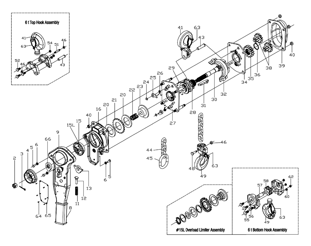 Jet 187798 Parts on jet hoist replacement parts