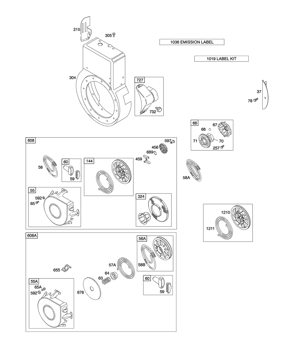19G412-(0680)-A1-BriggsandStratton-PB-2Break Down