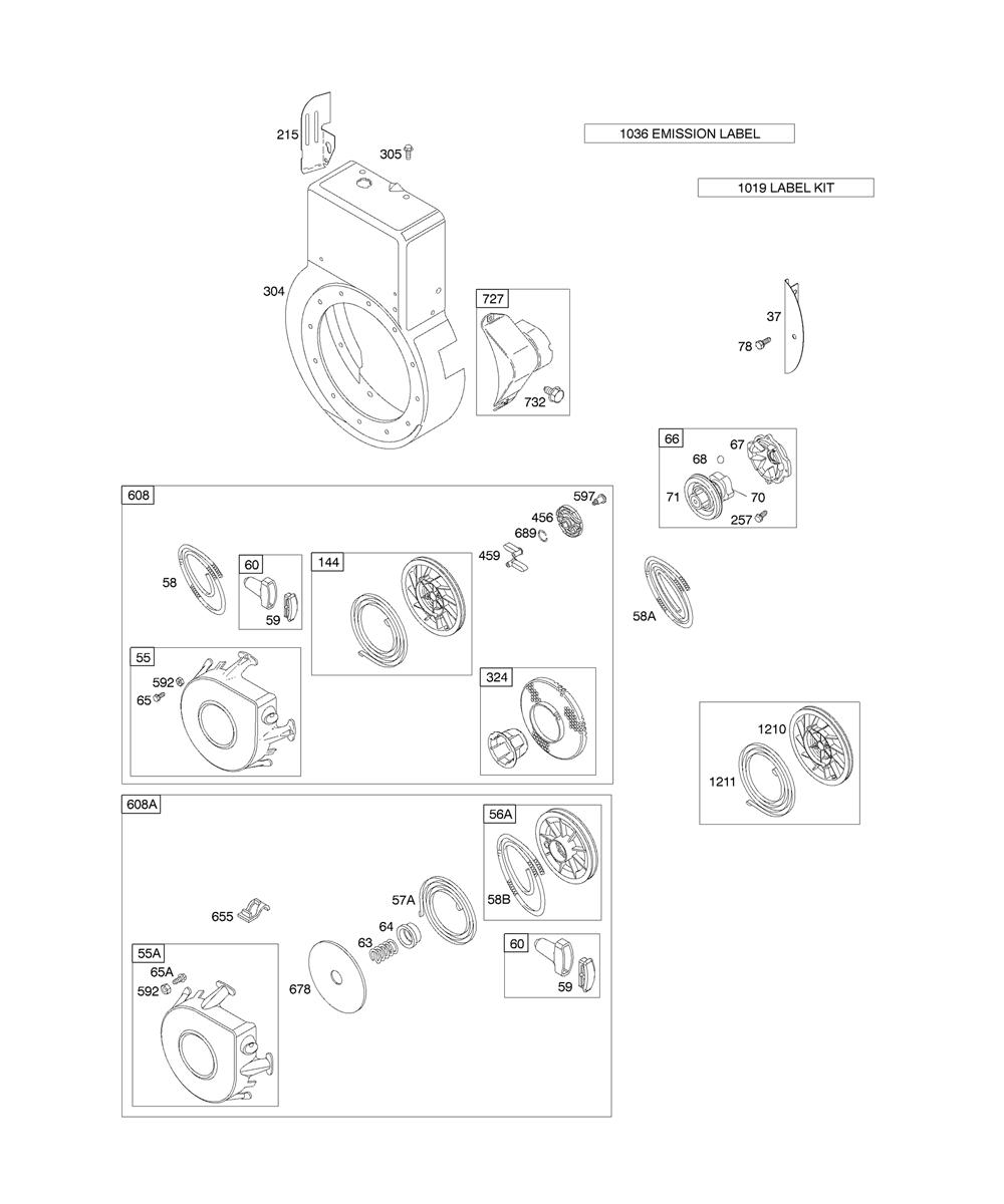 19G412-(1186)-E1-BriggsandStratton-PB-2Break Down