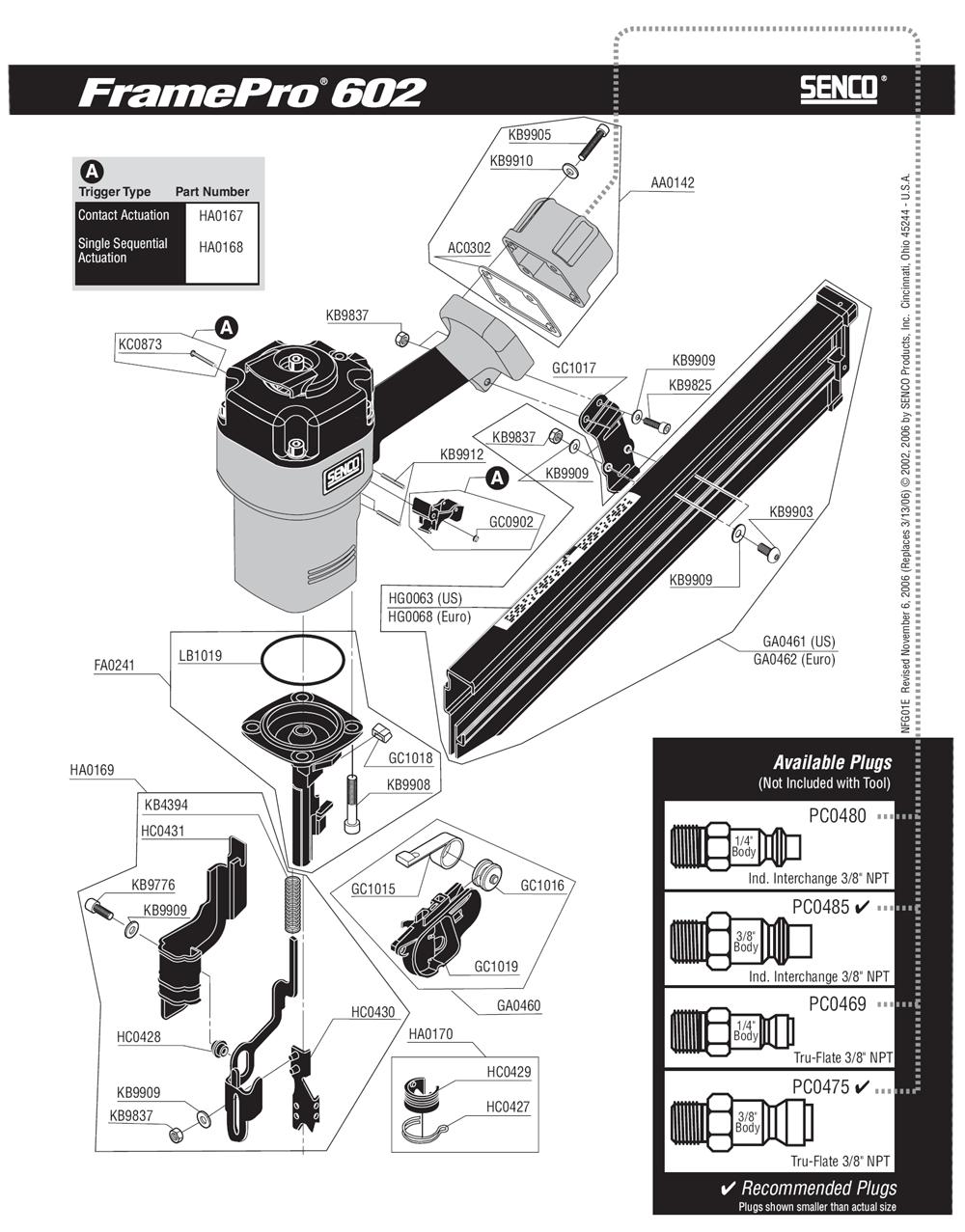 1E0003N-senco-PB-1Break Down
