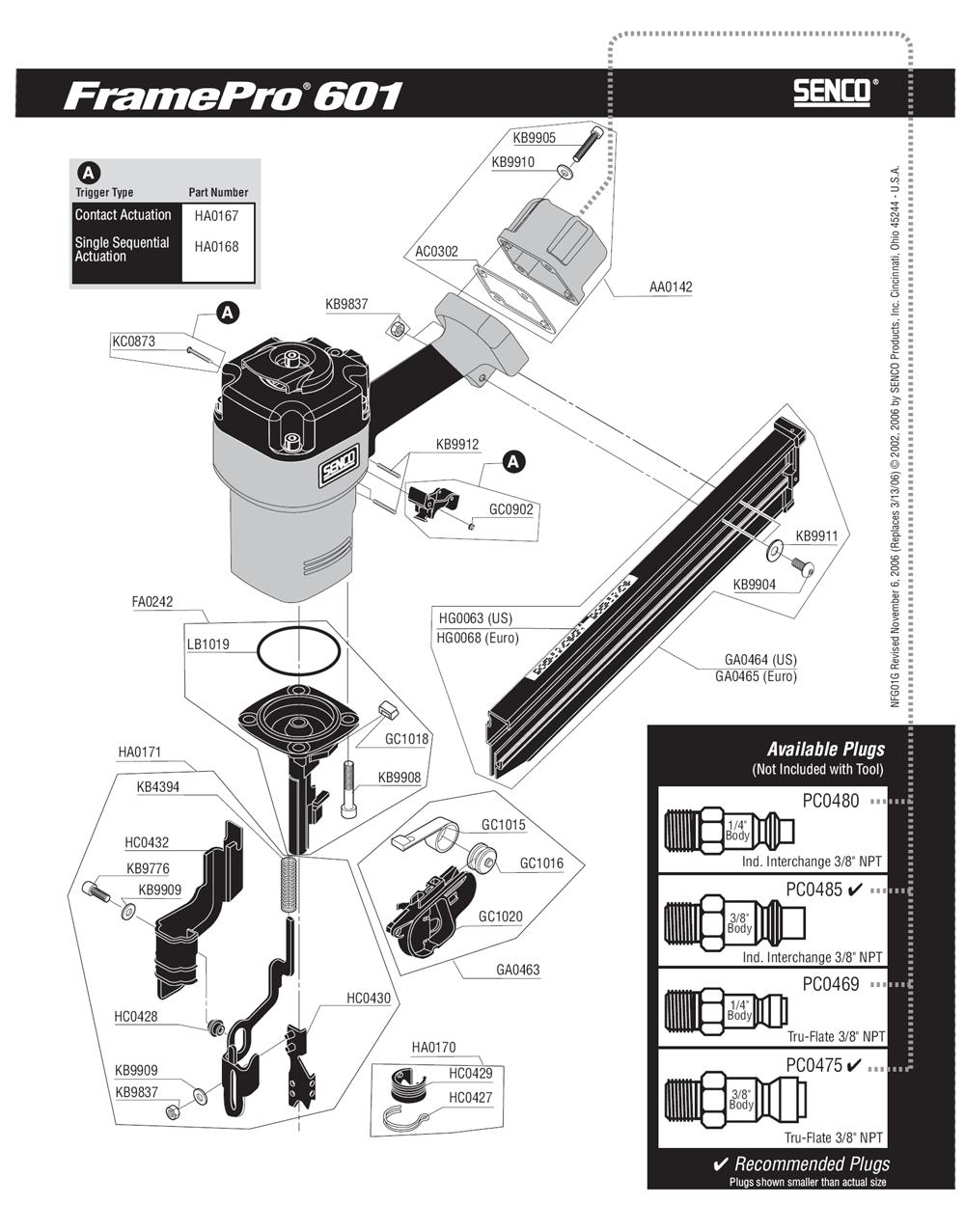 1G0003N-senco-PB-1Break Down