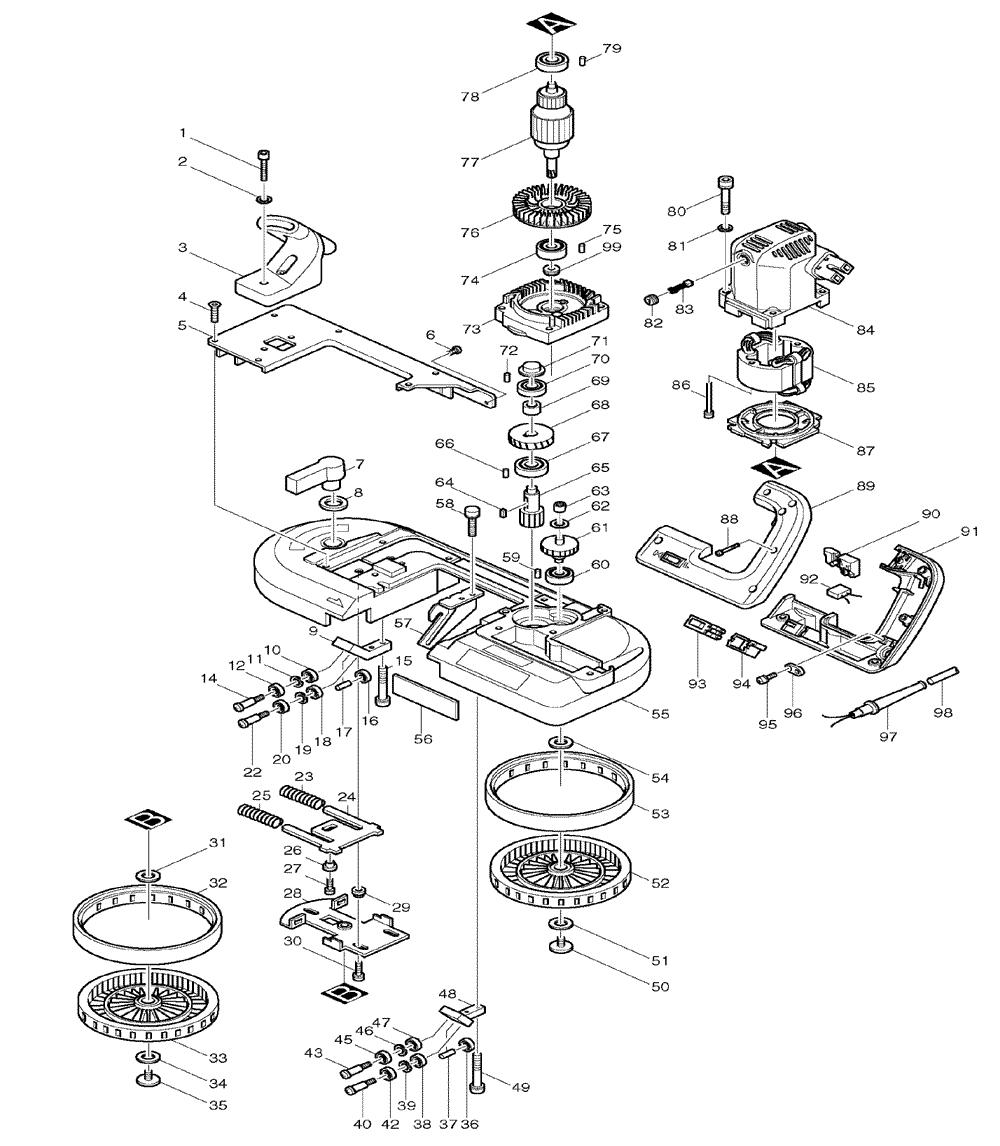 jet band saw parts diagram