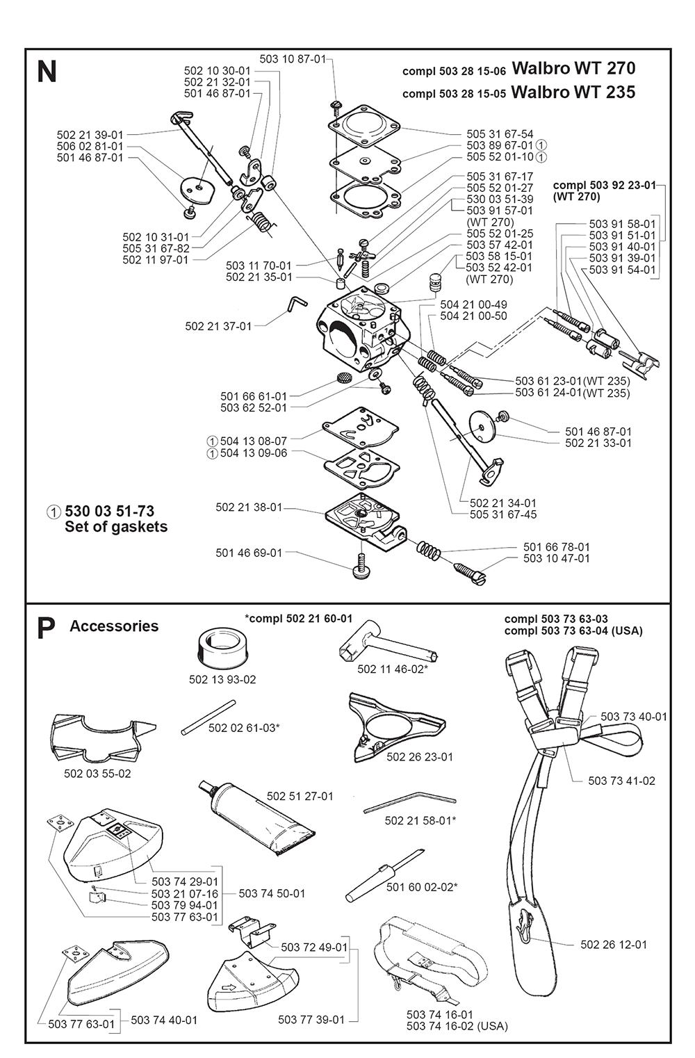 225 RJ-(I9700010)-Husqvarna-PB-4Break Down