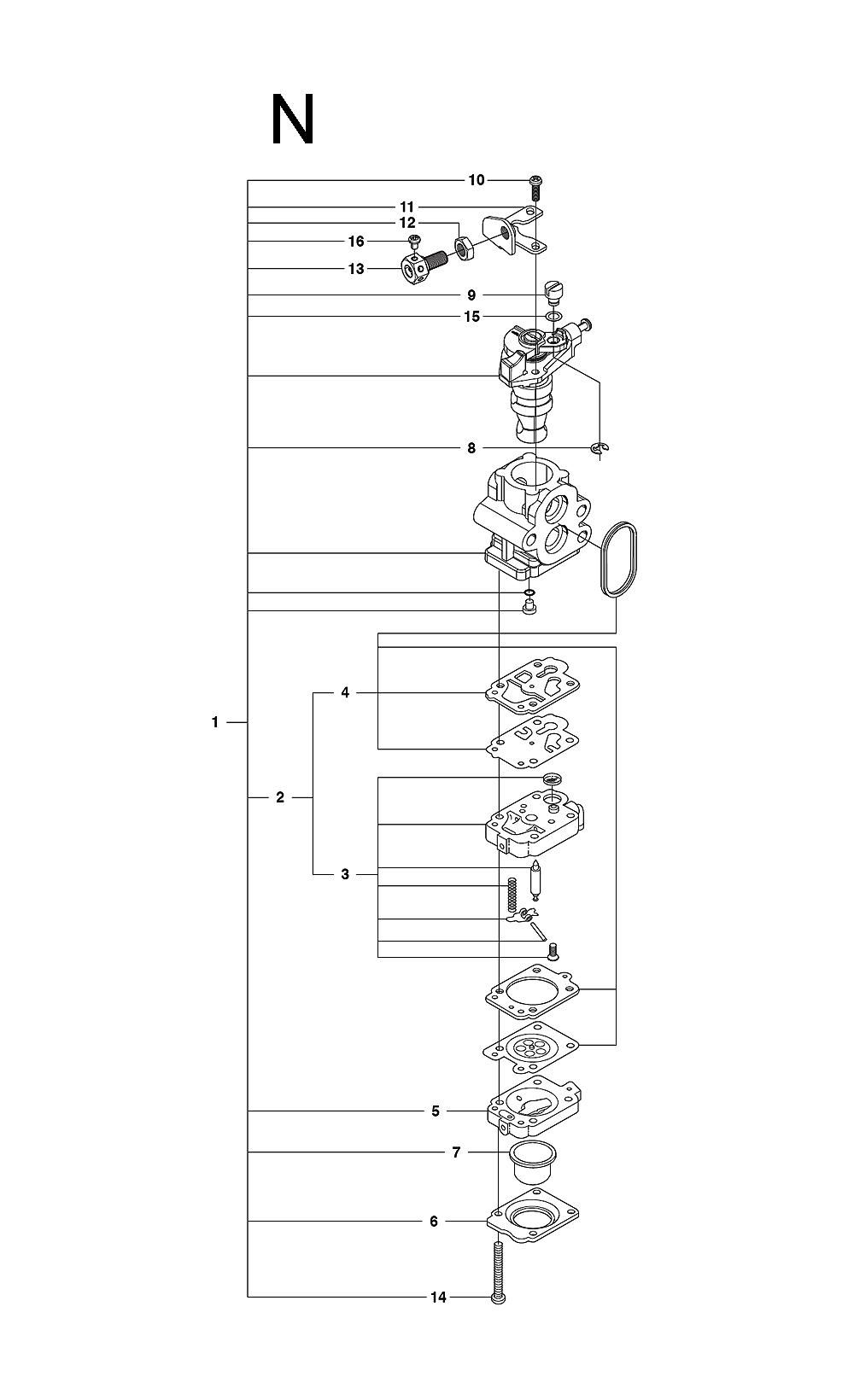 226HS99S-(06)-Husqvarna-PB-13Break Down