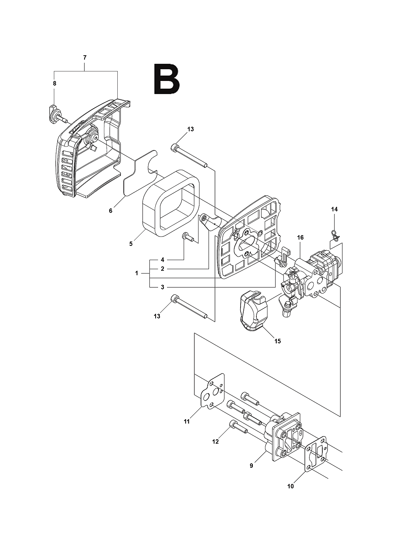 226HS99S-(5052268-01)-Husqvarna-PB-1Break Down