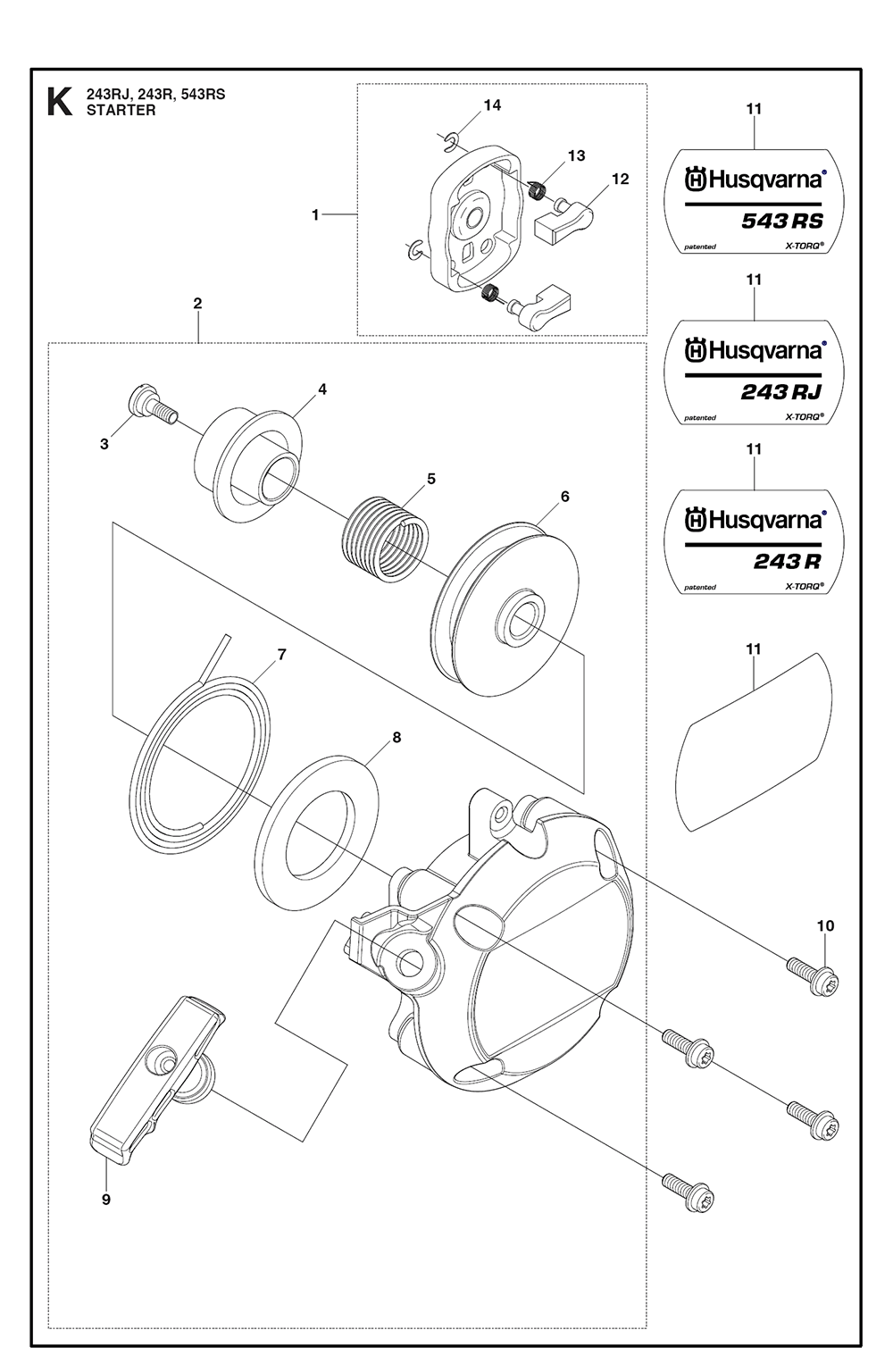 243 R-(23)-Husqvarna-PB-9Break Down