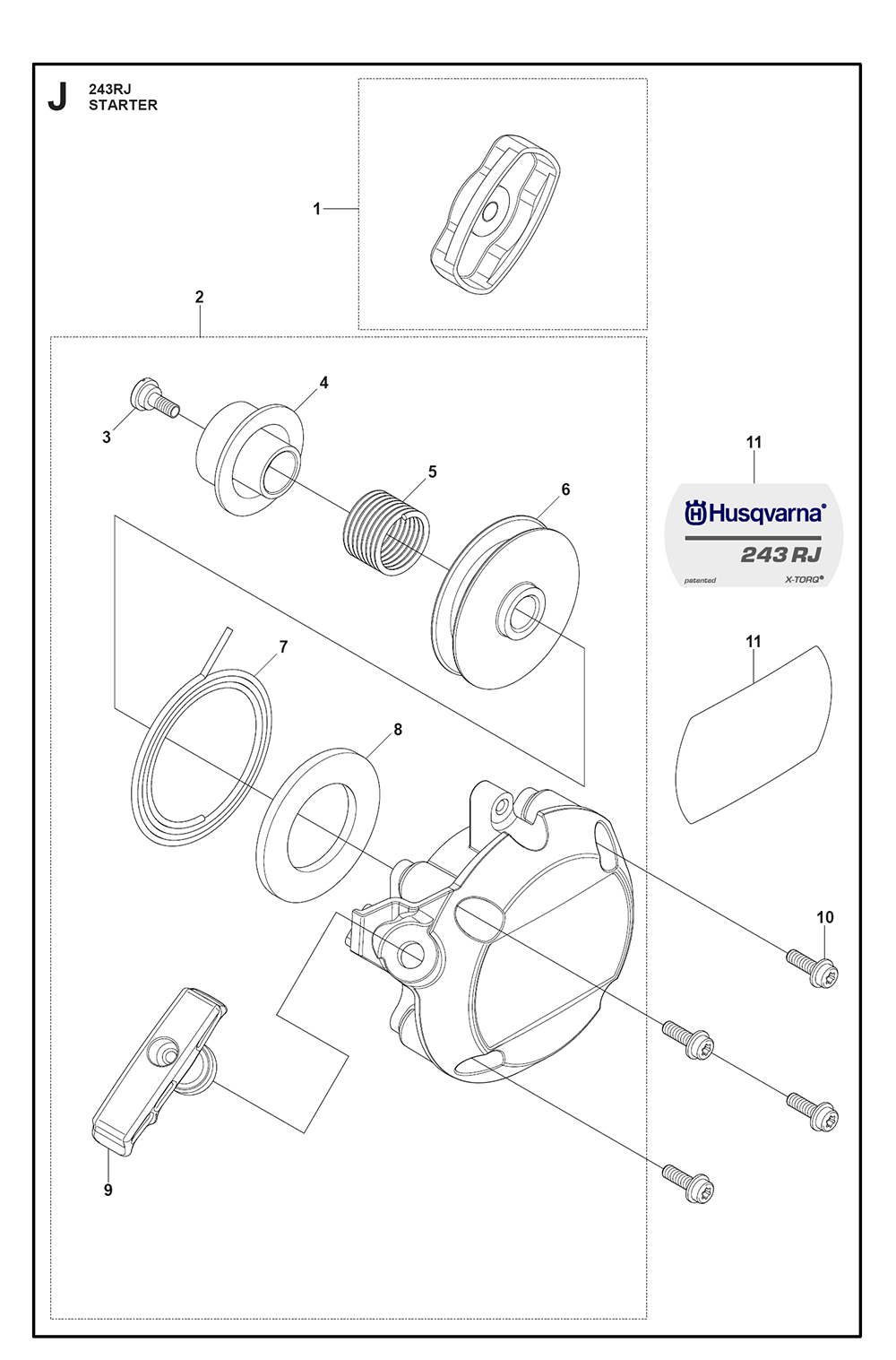 243 RJ-(25)-Husqvarna-PB-8Break Down