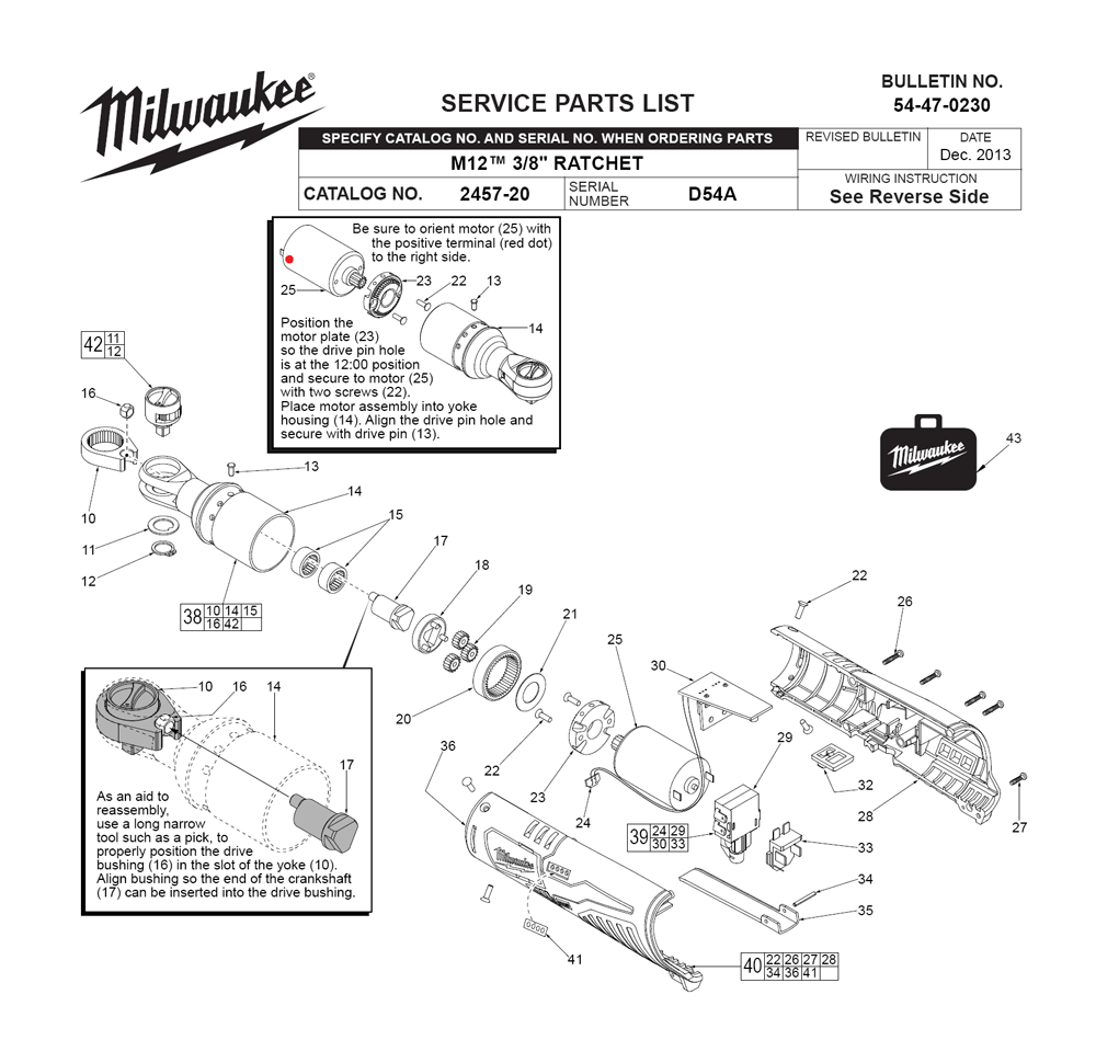 Buy Milwaukee 2457