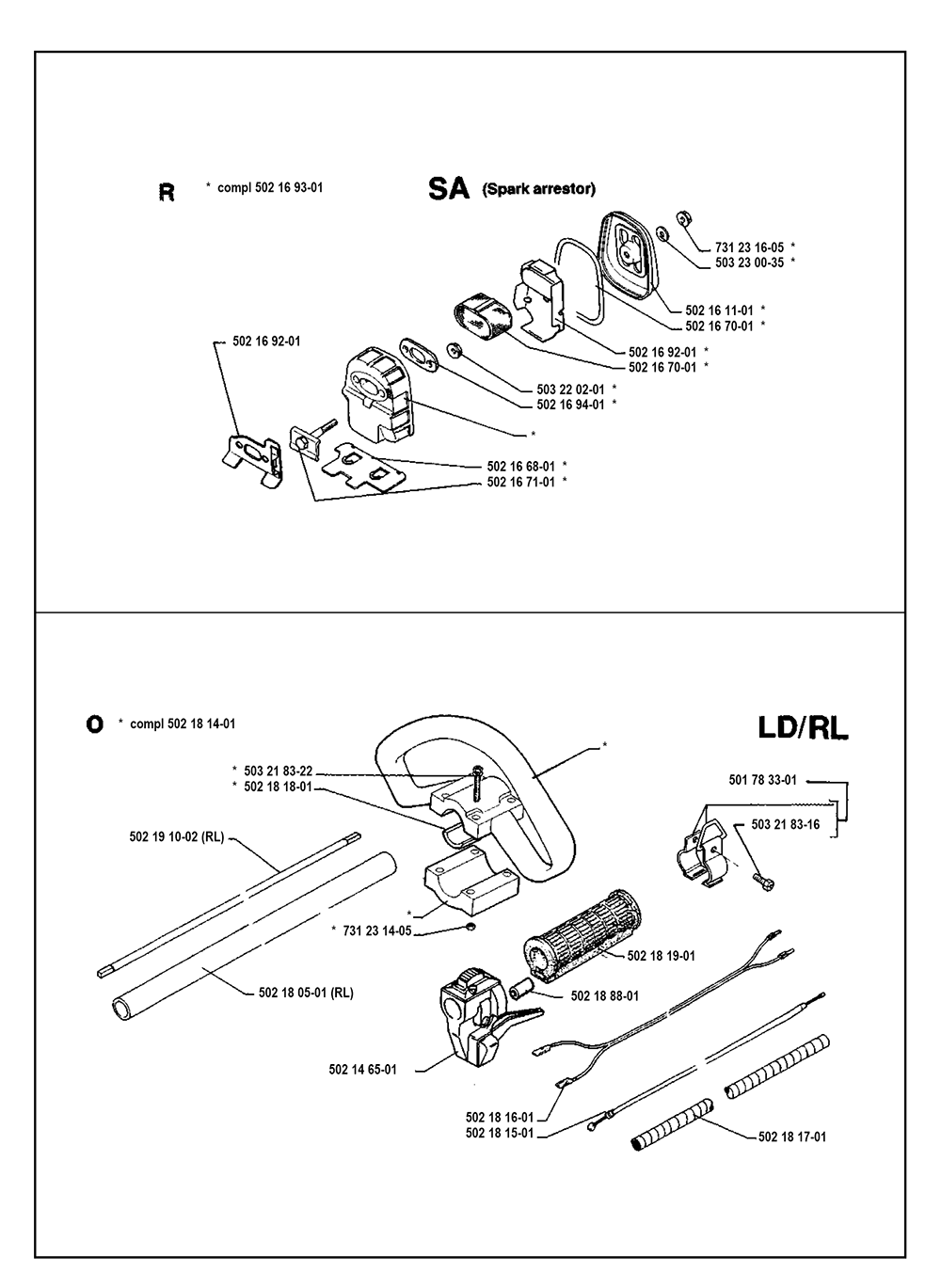 25 RD-(I9000003)-Husqvarna-PB-5Break Down