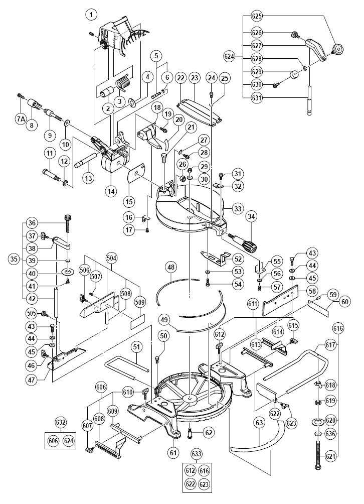 Hitachi-C10FCE-Parts-9566-PBBreak Down