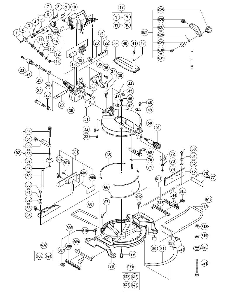 Hitachi-C10FCH-Parts-9565-PBBreak Down