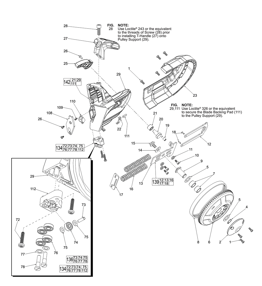 Buy Milwaukee 2729 20 F83a M18 Fuel Deep Cut Band Replacement Wilton 77a Parts List And Diagram Ereplacementpartscom Pb 1break Down