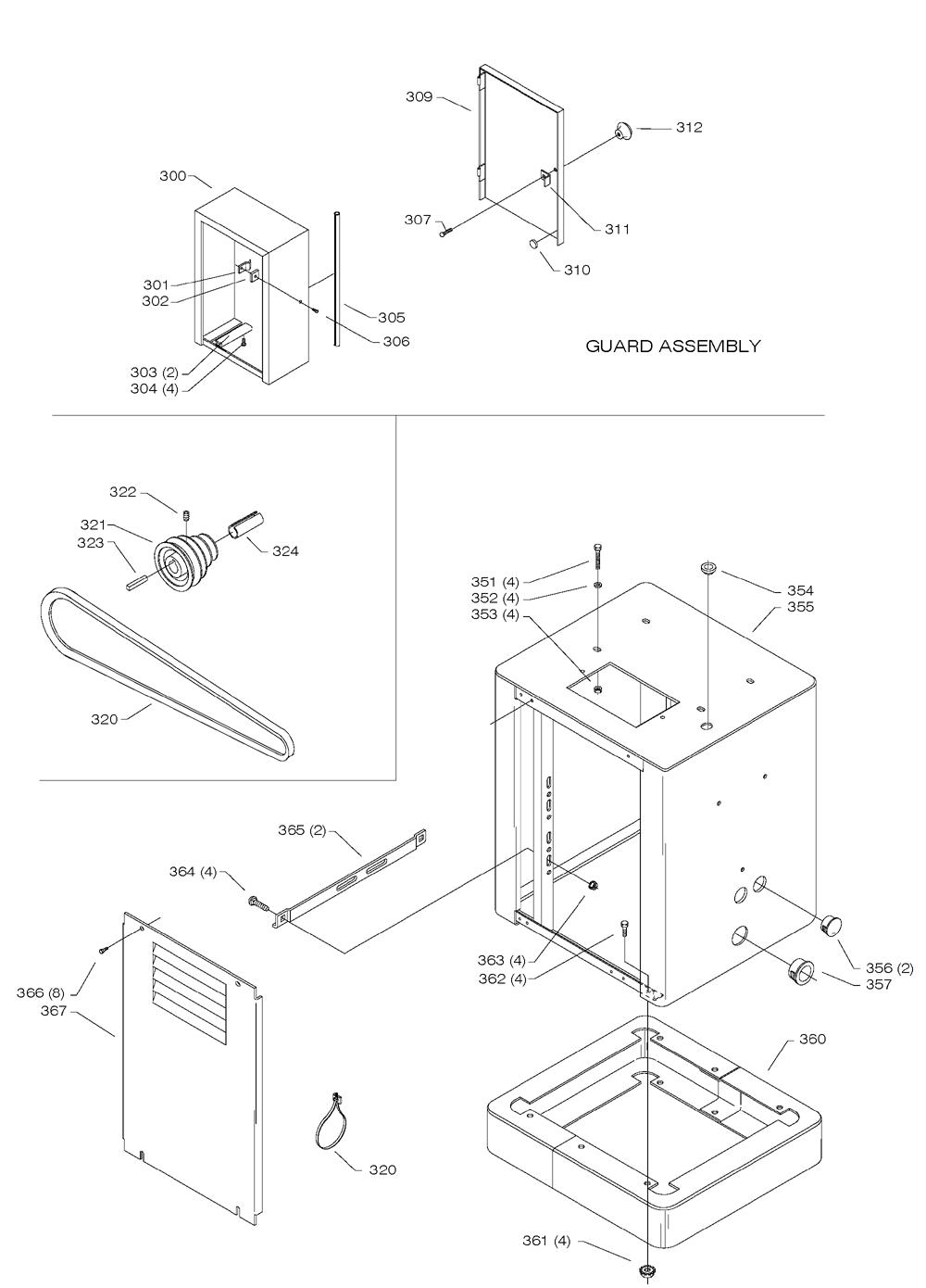 Delta-28-306-Type-1-Parts-3638-PBBreak Down