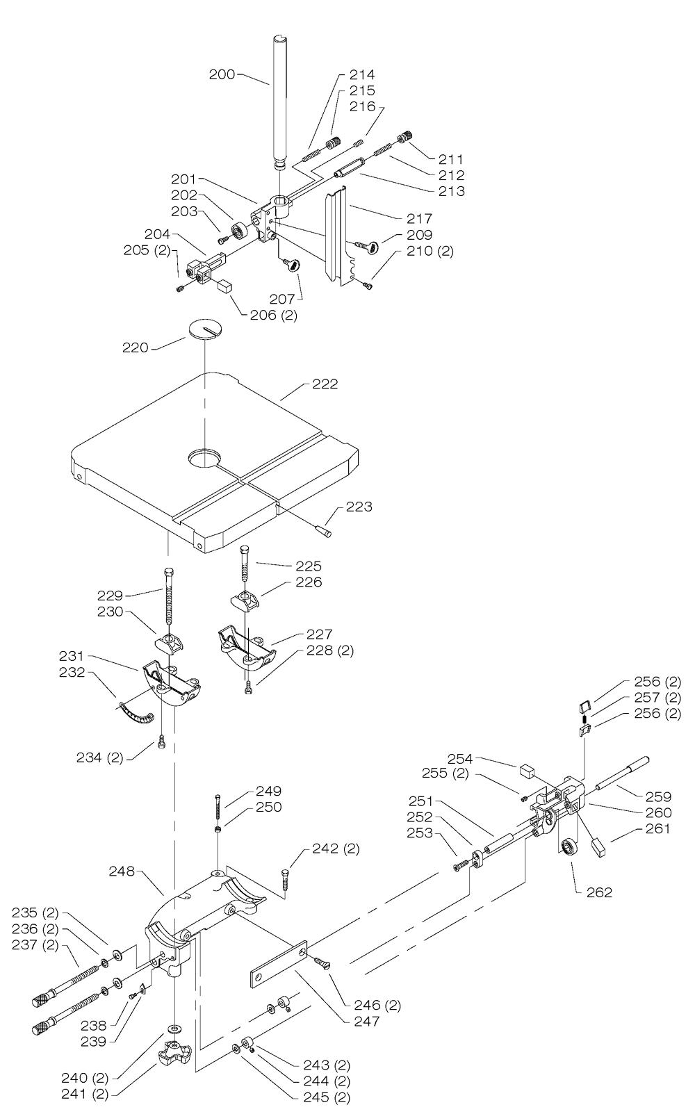 Delta-28-306-Type-1-Parts-3639-PBBreak Down