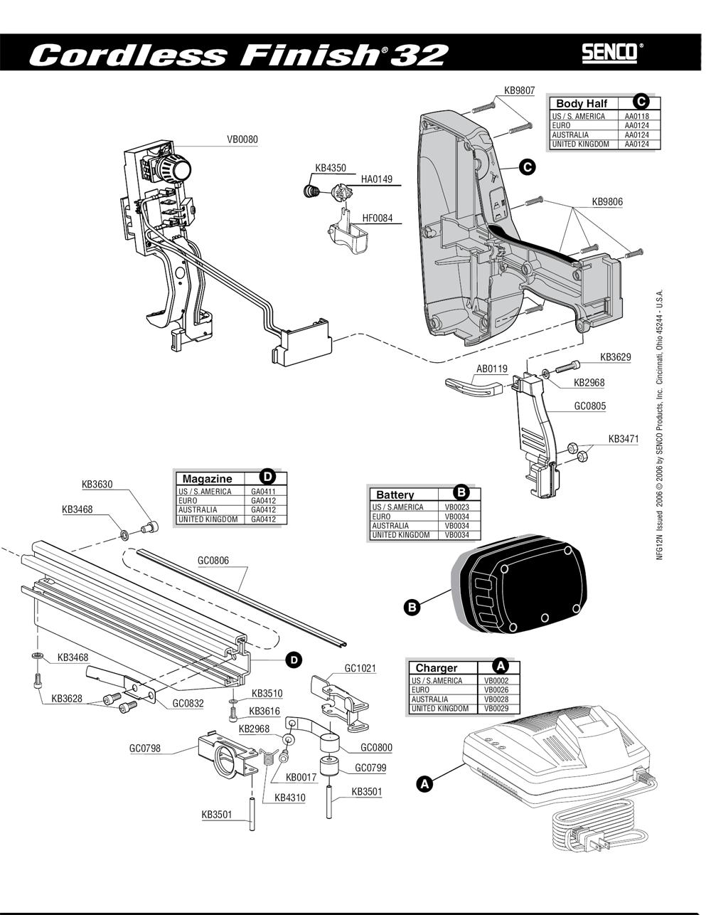 2N0002N-senco-PB-1Break Down