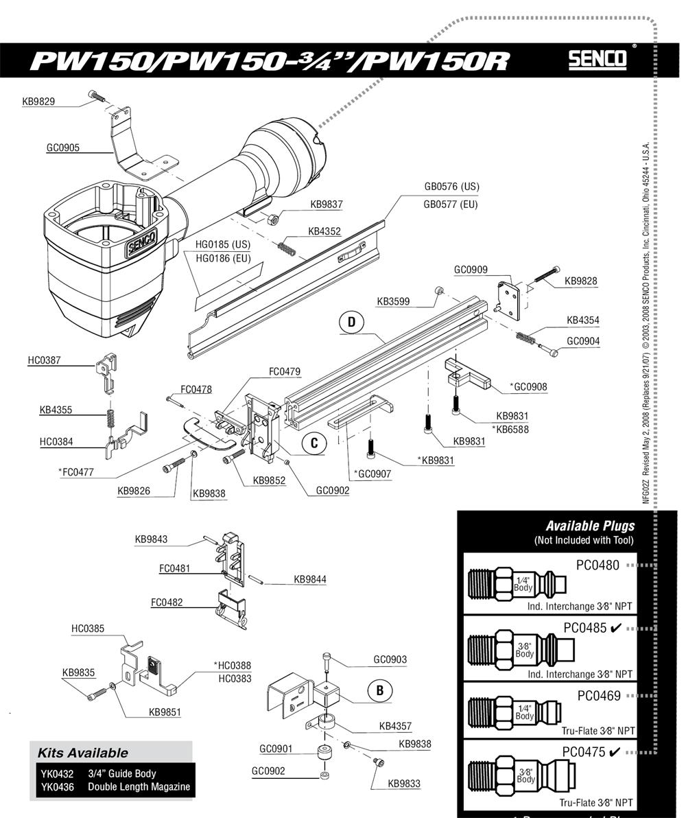 2Z0013N-senco-PB-1Break Down