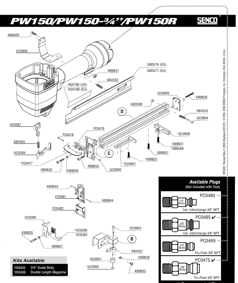 2Z0023N-senco-PB-1Break Down