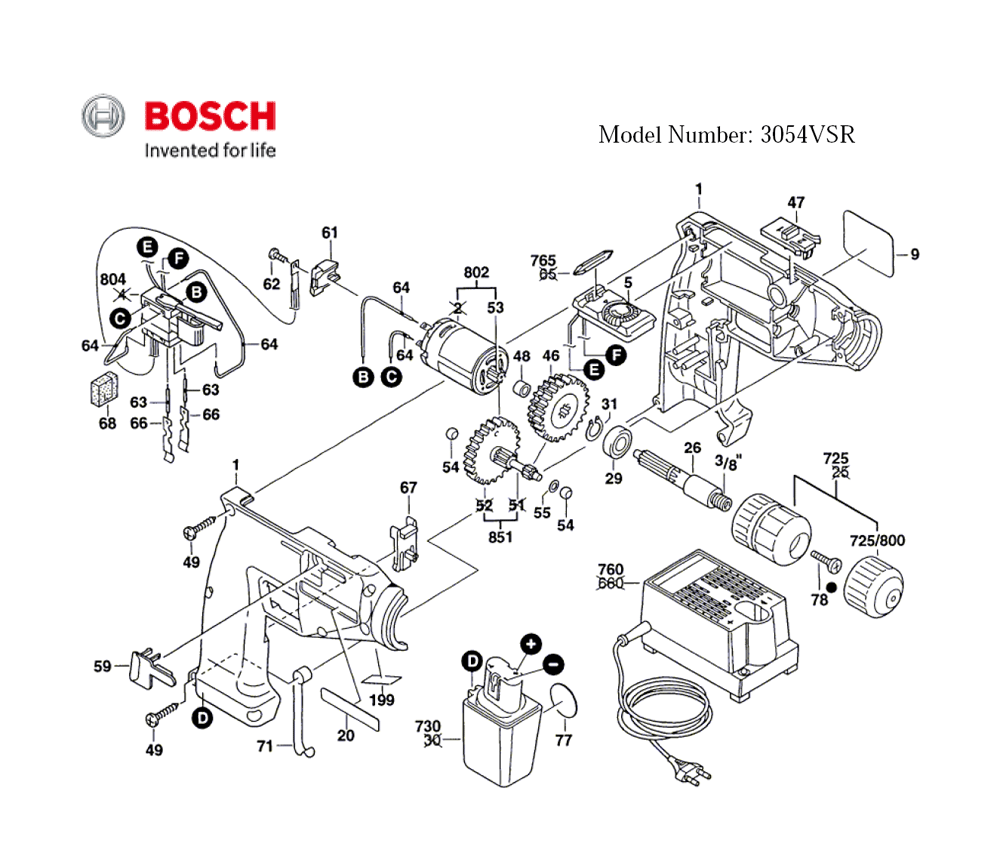 buy bosch 3054vsr