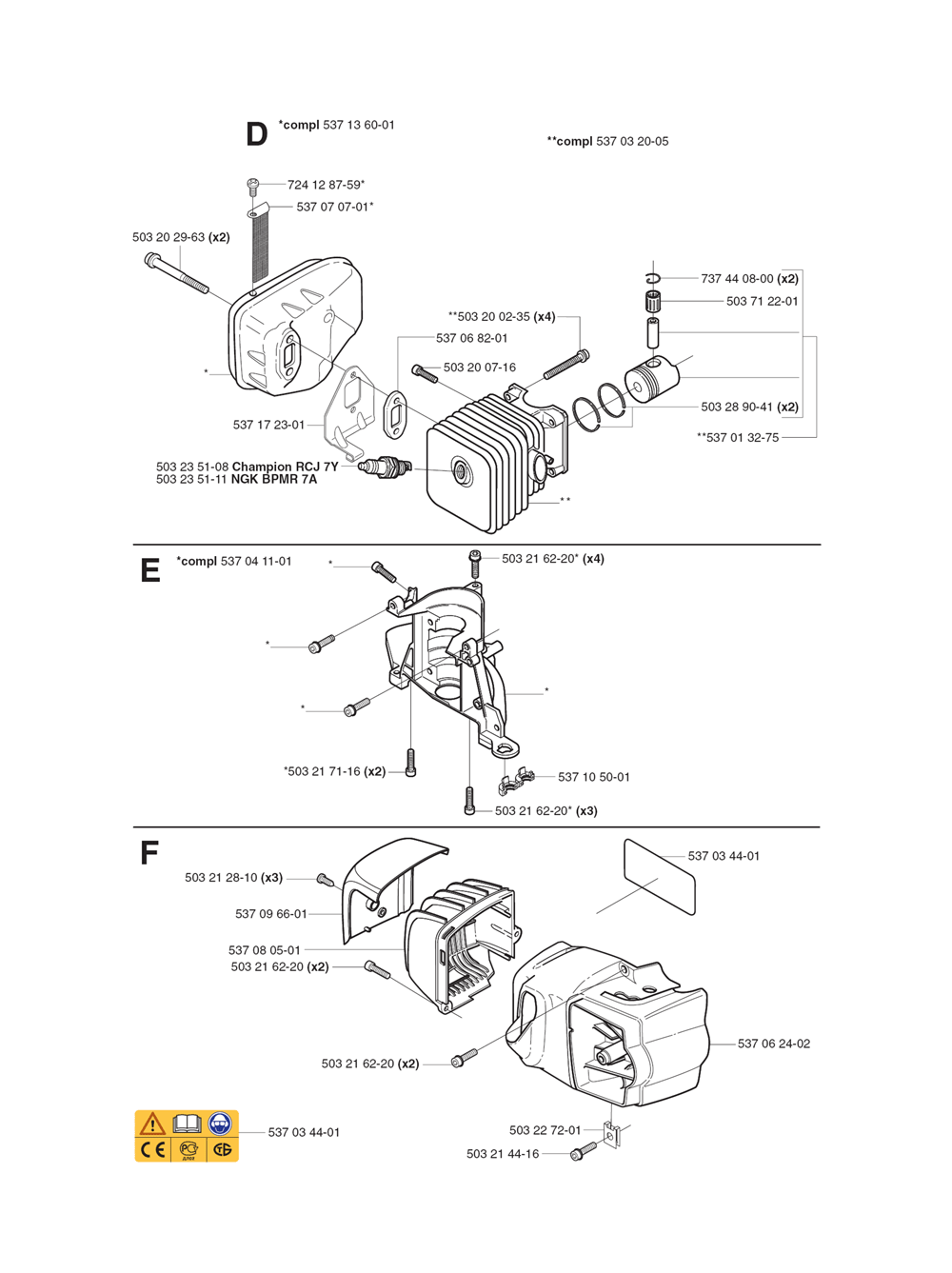 323 HD60-(1062756-61)-Husqvarna-PB-1Break Down