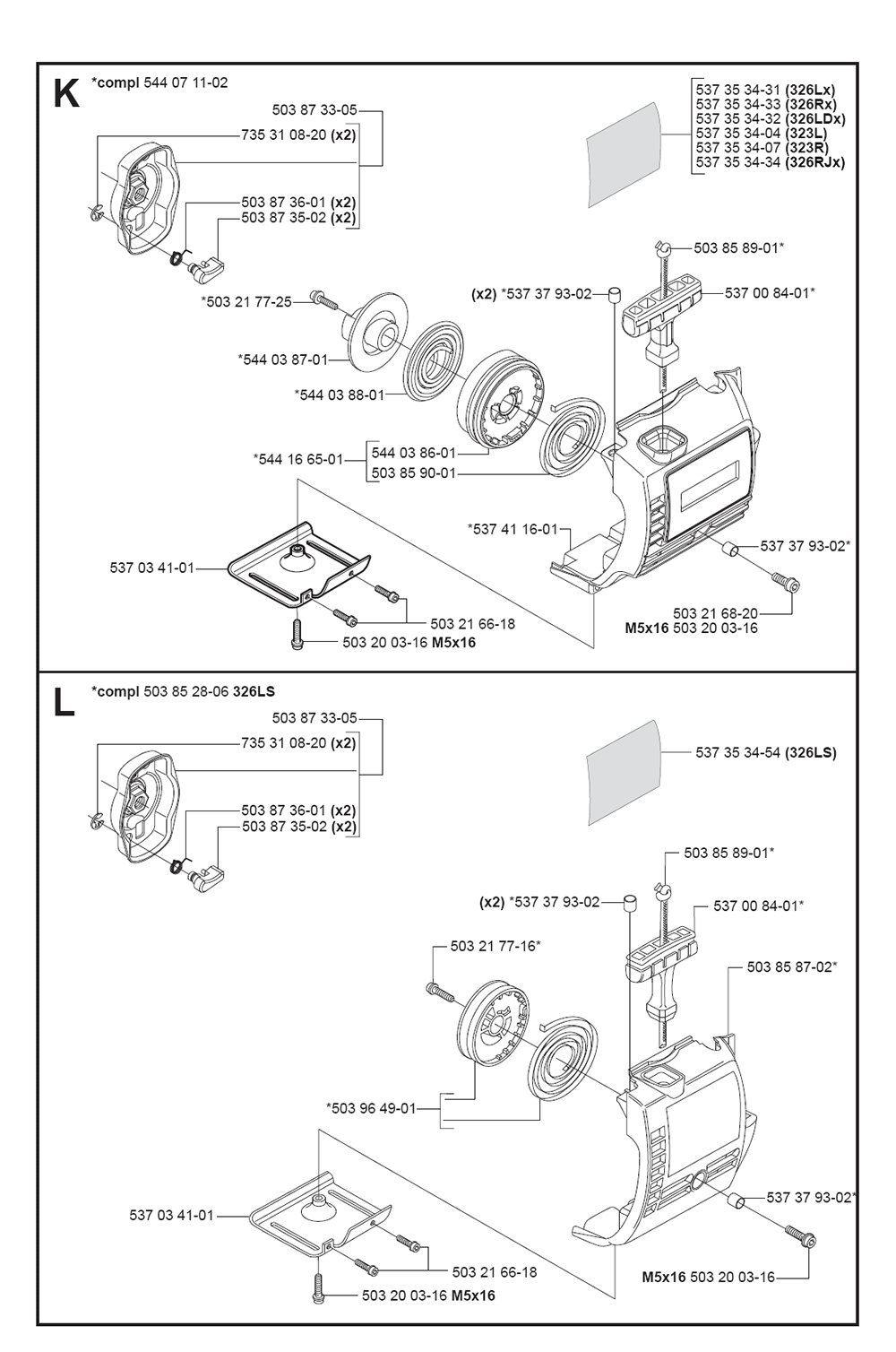 323 R-(5040985-01)-Husqvarna-PB-5Break Down