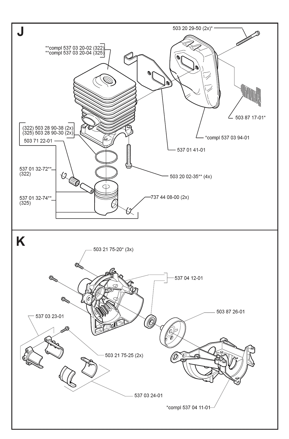 325 L-XT-SERIES-(I0000013)-Husqvarna-PB-4Break Down