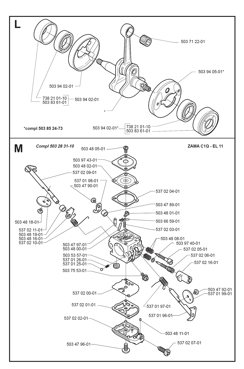 325 L-XT-SERIES-(I0000013)-Husqvarna-PB-5Break Down