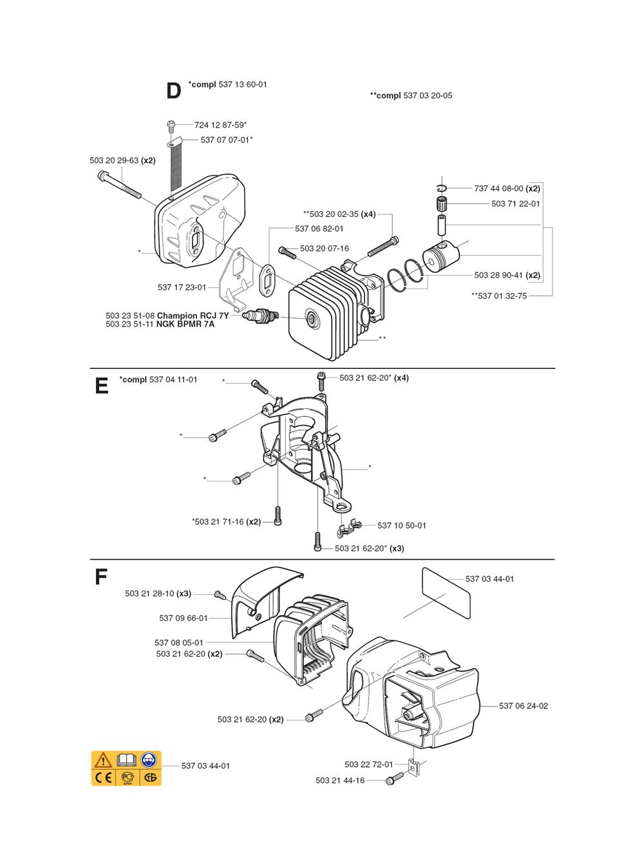 325HD60X-(1062756-61)-Husqvarna-PB-1Break Down