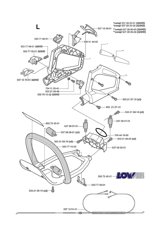 325HD75X-(1062756-61)-Husqvarna-PB-5Break Down
