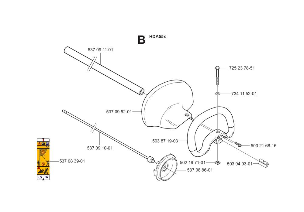 325HDA55X-(5440584-01)-Husqvarna-PB-1Break Down