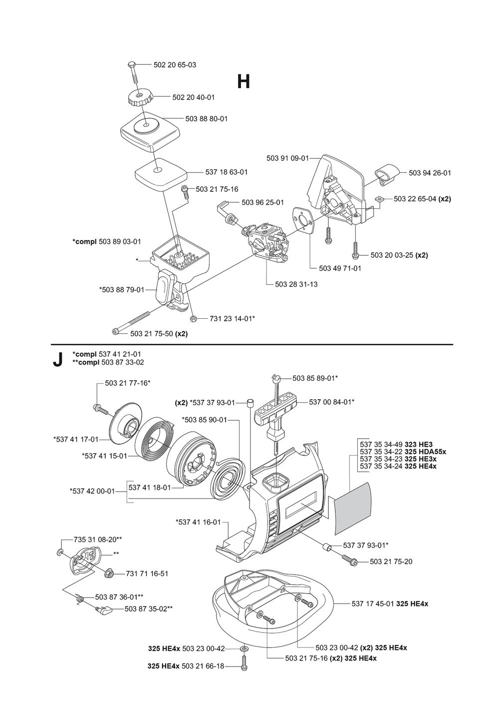 325HDA55X-(5440959-02)-Husqvarna-PB-5Break Down