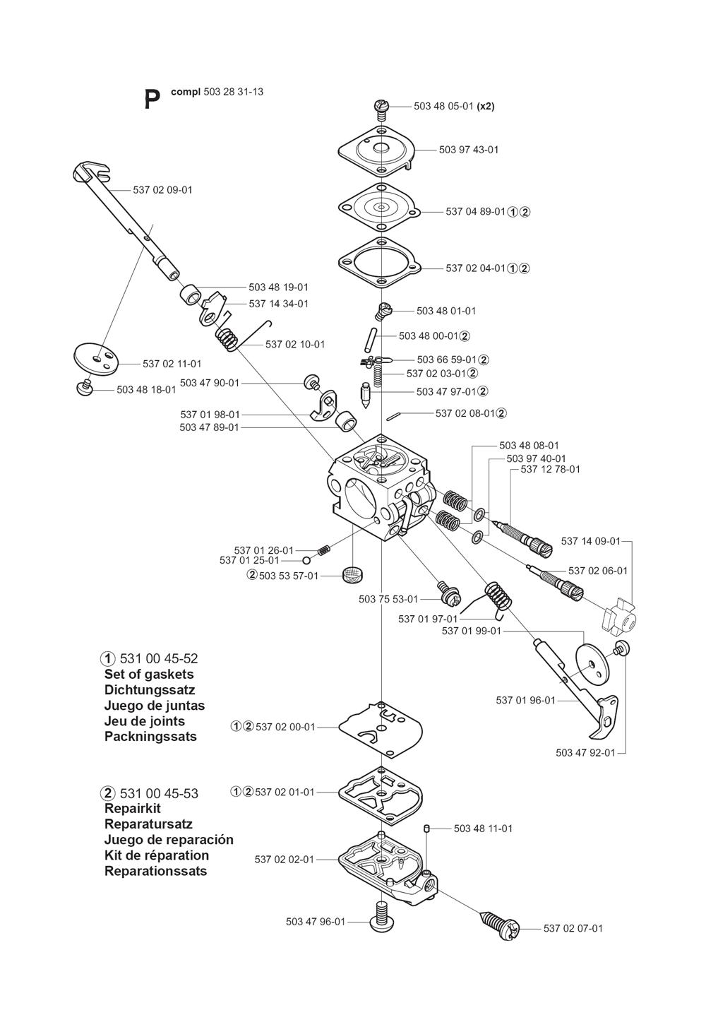 325HE3X-(5440584-01)-Husqvarna-PB-8Break Down
